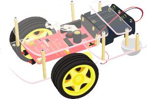 Robot avec carte Raspberry Pi