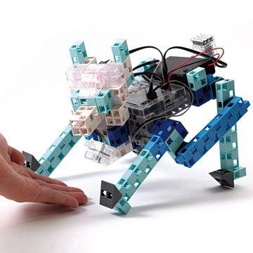 un robot chien à programmer